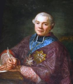 Portrait of Ignacy Massalski | Marcello Bacciarelli | Oil Painting