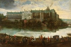 The Royal Palace in Brussels | Pieter Brueghel the Younger | Oil Painting