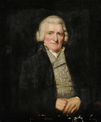 William Traies of Crediton (father of the artist) | Lemuel Francis Abbott | Oil Painting