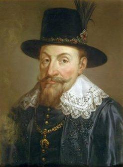 Portrait of Sigismund III Vasa | Marcello Bacciarelli | Oil Painting