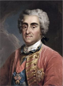 Portrait of Augustus II the Strong | Marcello Bacciarelli | Oil Painting