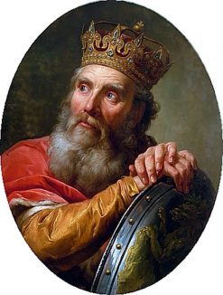 Portrait of Casimir III the Great | Marcello Bacciarelli | Oil Painting