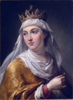 Portrait of Queen Jadwiga Anjou | Marcello Bacciarelli | Oil Painting