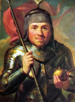 Portrait of king W?adys?aw I the Elbow-high | Marcello Bacciarelli | Oil Painting