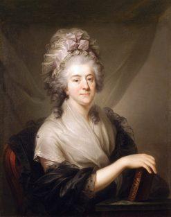Portrait of Franciszka Rzewuska nee Cetner | Marcello Bacciarelli | Oil Painting