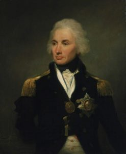 Vice-Admiral Horatio Nelson | Lemuel Francis Abbott | Oil Painting