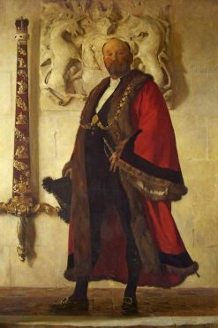 Alderman Sir John Swaish | Frederick George Swaish | Oil Painting