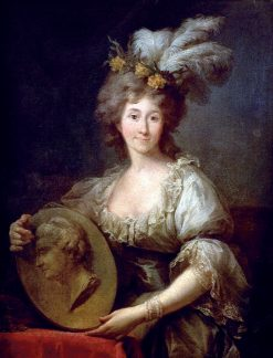 Portrait of Dorothea von Medem | Marcello Bacciarelli | Oil Painting