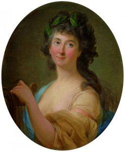 Portrait of Catherina Gattai Tomatis | Marcello Bacciarelli | Oil Painting