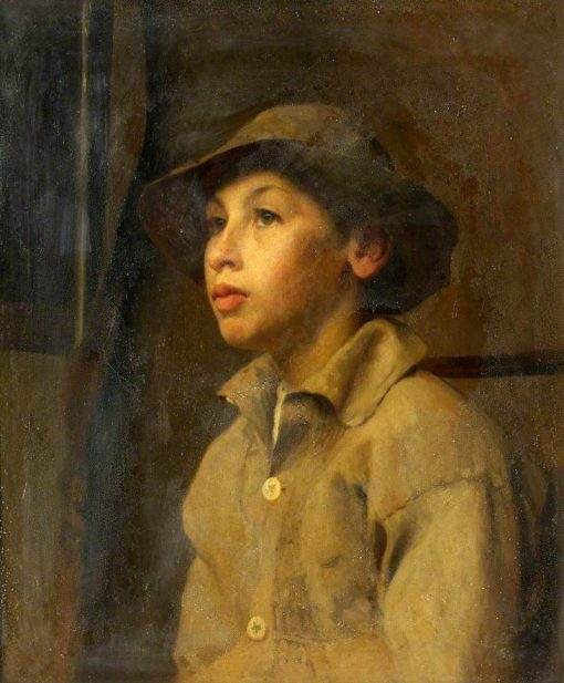 Country Lad | Frederick George Swaish | Oil Painting