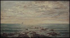 Seascape on Sunset | Giorgio Lucchesi | Oil Painting
