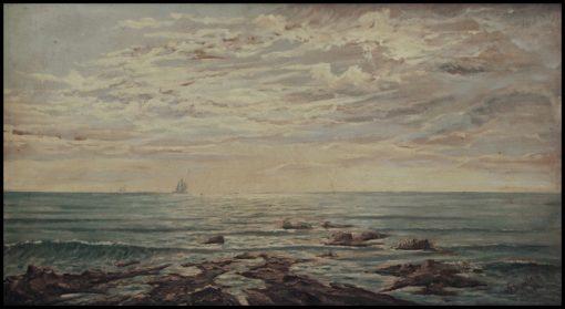 Seascape on Sunset | Giorgio Lucchesi | Oil Painting