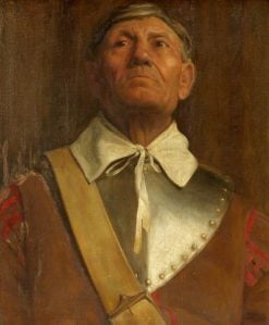 Puritan Soldier | Frederick George Swaish | Oil Painting