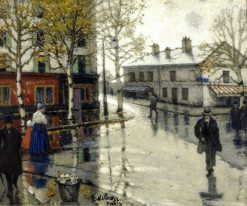 After the Rain | Pyotr Nilus | Oil Painting