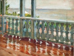 Terrace After the Rain | Pyotr Nilus | Oil Painting