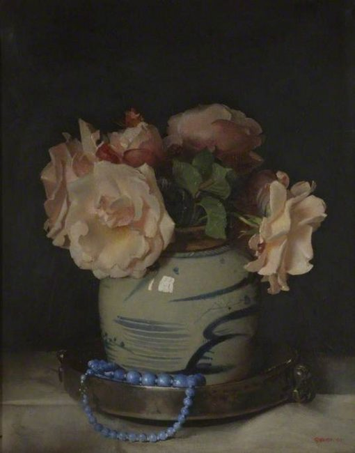 The Pewter Dish | Frederick George Swaish | Oil Painting