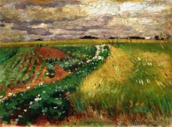 A Field | Pyotr Nilus | Oil Painting