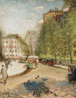 Paris | Pyotr Nilus | Oil Painting