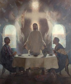 The Supper at Emmaus | Frederick George Swaish | Oil Painting