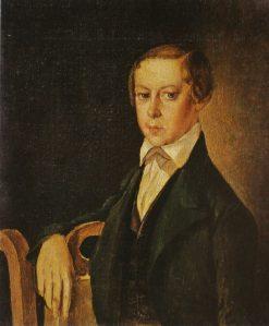 Portrait of A.I. Pozdneev | Grigory Soroka | Oil Painting