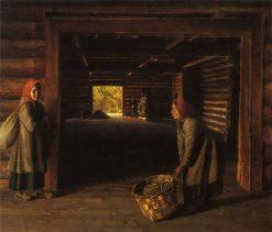 The Barn | Grigory Soroka | Oil Painting