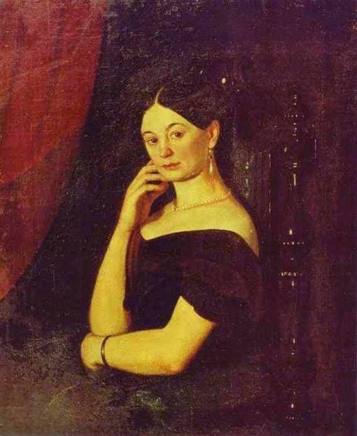 Portrait of A.P. Milykova | Grigory Soroka | Oil Painting