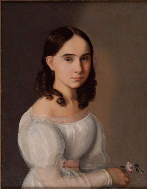 Portrait of Mendeleeva | Grigory Soroka | Oil Painting