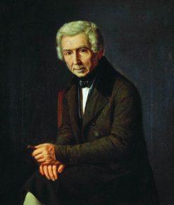 Portrait of Alexei Venetsianov | Grigory Soroka | Oil Painting