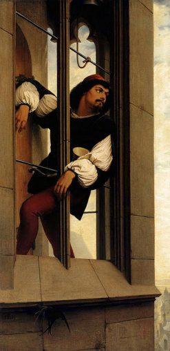 The Tower Watchman | Eduard von Steinle | Oil Painting