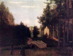 Chapel in the Park | Grigory Soroka | Oil Painting