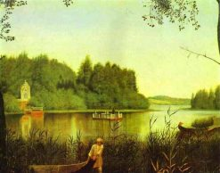The Lake | Grigory Soroka | Oil Painting