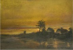 Evening on the Baltic Sea | Walter Moras | Oil Painting