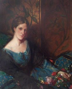 Barbara Shore Nightingale | Charles Haslewood Shannon | Oil Painting