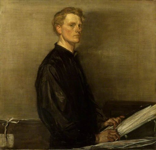 Self Portrait   Charles Haslewood Shannon   Oil Painting