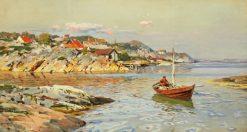 Coastal Scene | Walter Moras | Oil Painting