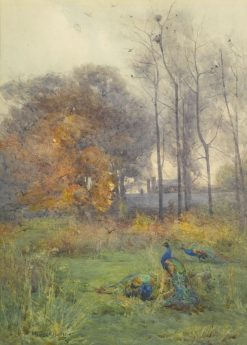 Autumn Days | Mildred Anne Butler | Oil Painting
