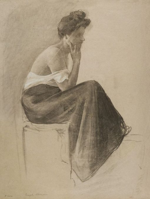 Seated Woman | Joan Llimona i Bruguera | Oil Painting