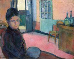 Portrait of Madame Schuffenecker | Emile Bernard | Oil Painting