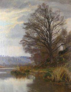 Riverbank | Christian Zacho | Oil Painting