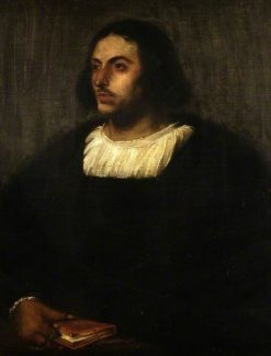 Jacopo Nazzaro (copy of Titian) | Charles Haslewood Shannon | Oil Painting