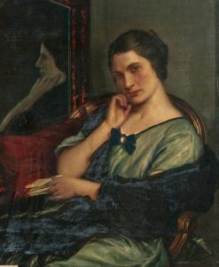 Lady in a Black Shawl | Charles Haslewood Shannon | Oil Painting