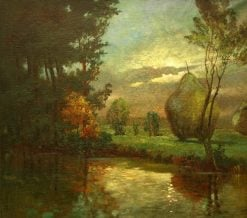 Evening in Spreewald | Walter Moras | Oil Painting