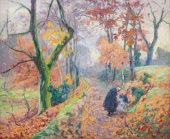 Autumn in Creuse | Paul Madeline | Oil Painting