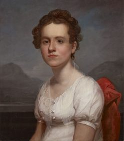 Portrait of Helen Miller (Mrs. Charles G. McLean) | Rembrandt Peale | Oil Painting
