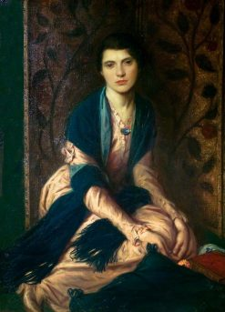 Miriam | Charles Haslewood Shannon | Oil Painting