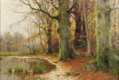 Autumn Landscape | Walter Moras | Oil Painting