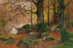 Autumnal Landscape | Walter Moras | Oil Painting