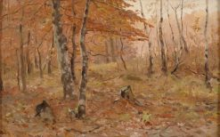Autumn Forest | Walter Moras | Oil Painting