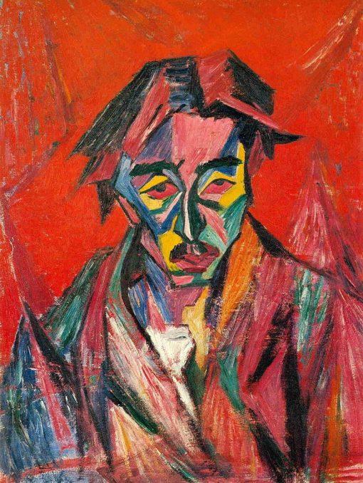 Self Portrait | Tetsugoro Yorozu | Oil Painting