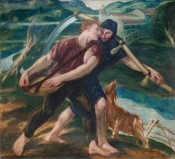 Reaper and Sower | Charles Haslewood Shannon | Oil Painting